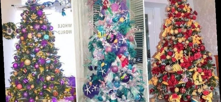 The most magical Disney,themed Christmas trees, from The