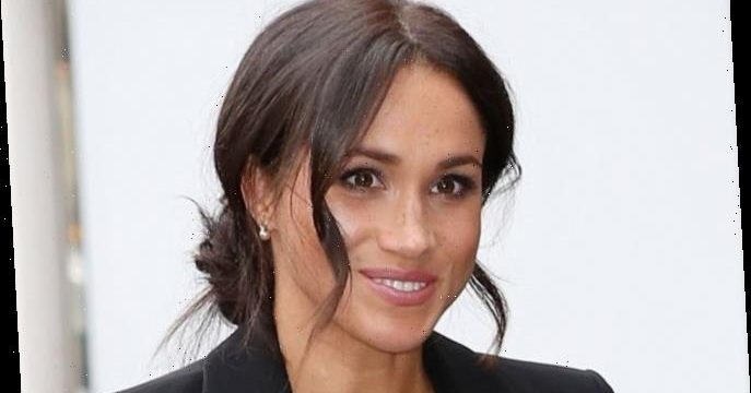 how to master 6 signature meghan markle hair styles from her chic messy bun to glossy curls lifestyle world news her chic messy bun to glossy curls